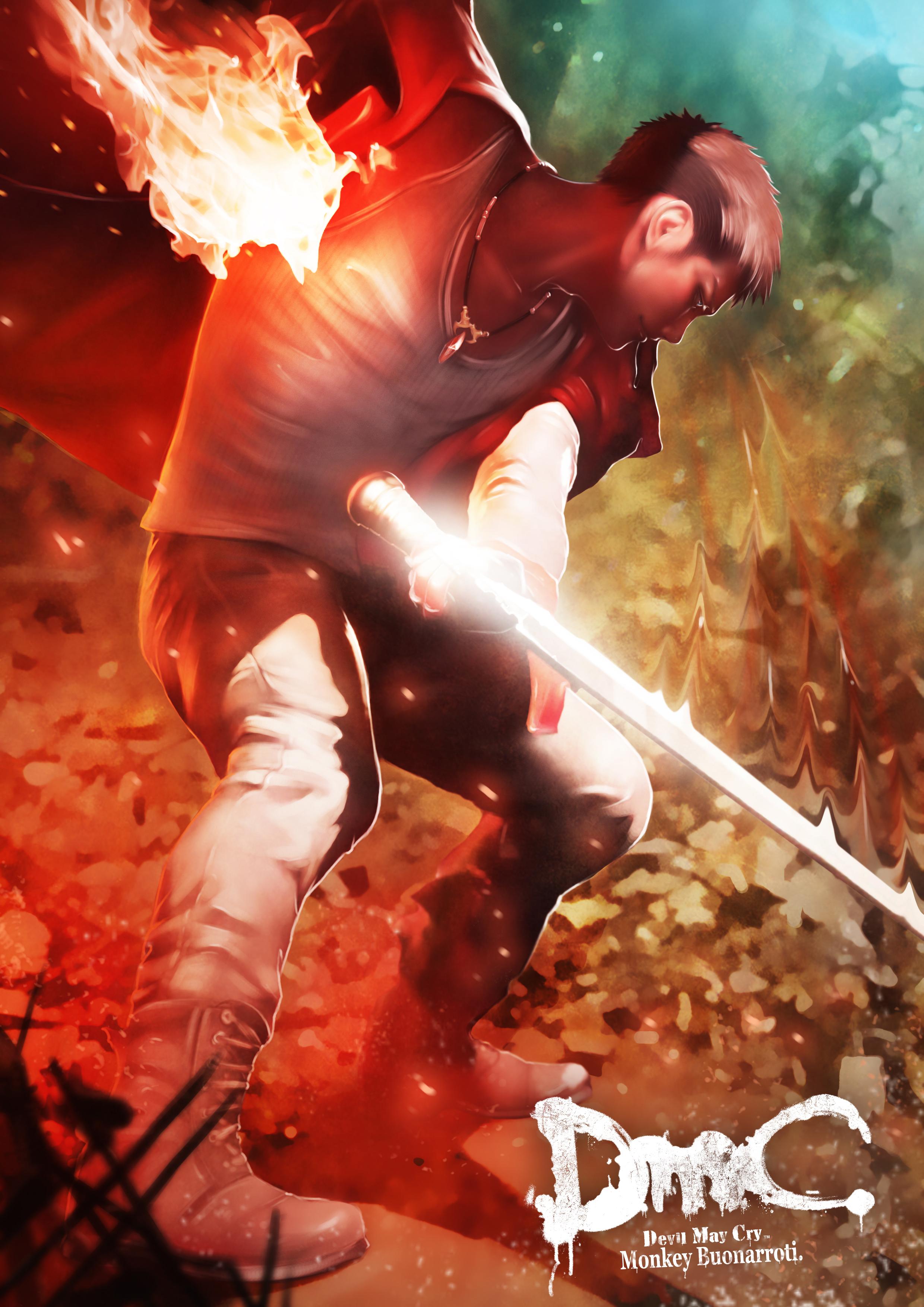 Dante Ninja Theory Devil May Cry Mobile Wallpaper 1459800