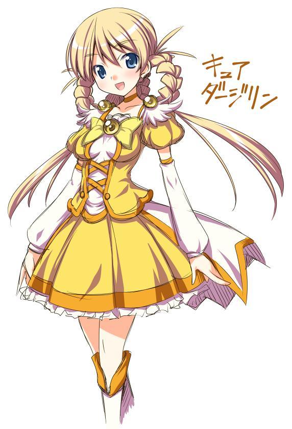 Tags: Anime, Kaneda Mitsuko, GIRLS und PANZER, Darjeeling (GIRLS und PANZER), Cure Peace (Cosplay), Fanart From Pixiv, Pixiv, Fanart