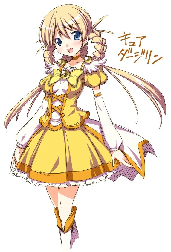Tags: Anime, Kaneda Mitsuko, GIRLS und PANZER, Darjeeling (GIRLS und PANZER), Cure Peace (Cosplay), Fanart