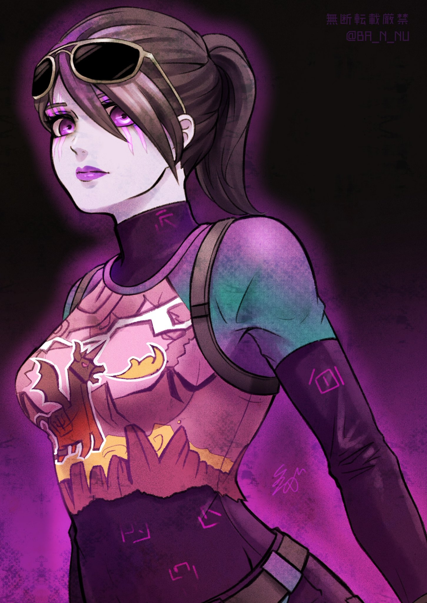 tags anime pixiv id 36673439 fortnite dark bomber purple skin - fortnite dark bomber art