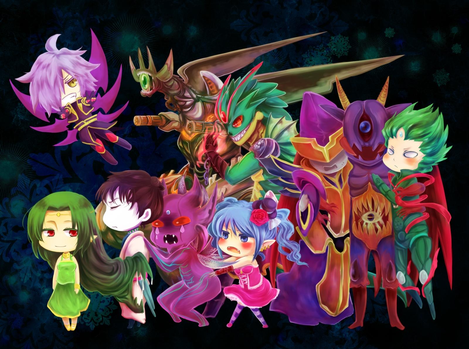 Dark Irregulars Cardfight Vanguard Zerochan Anime