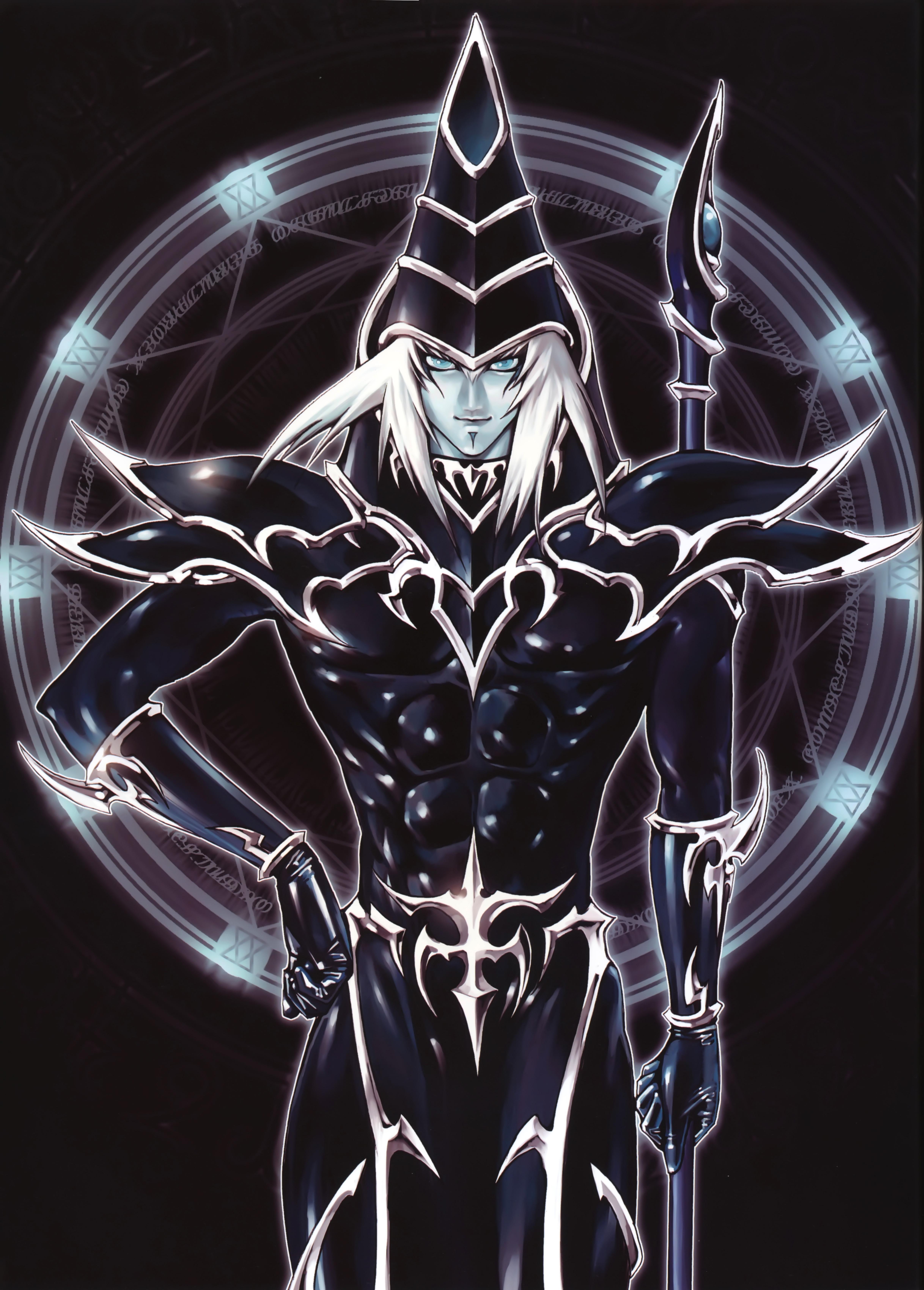 dark magician yu gi oh duel monsters mobile wallpaper