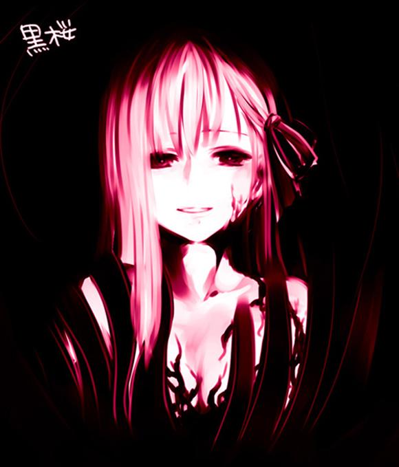 Темные арты аниме 9