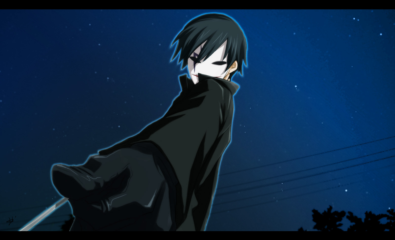 Darker Than Black Wallpaper 1156893 Zerochan Anime Image Board