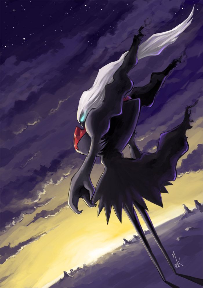 Tags Anime Pokemon Darkrai Mobile Wallpaper Fanart Legendary