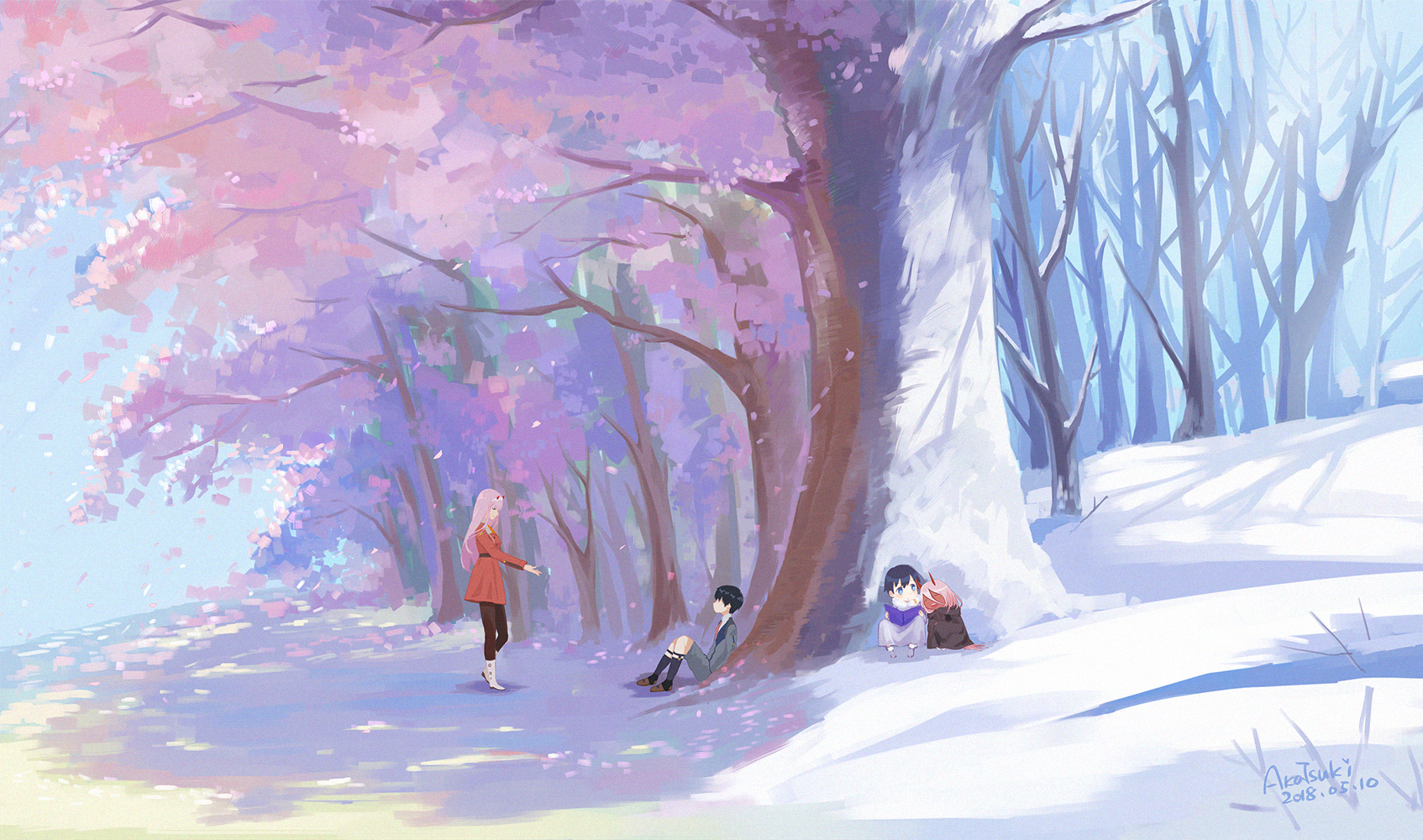 Darling in the FranXX Image #2419738 - Zerochan Anime ...