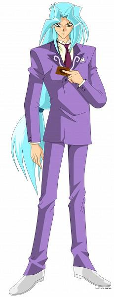 Tags: Anime, Dragonballzcz, Yu-Gi-Oh!, Yu-Gi-Oh! Duel Monsters, Dartz, Card (Object), Purple Neckwear