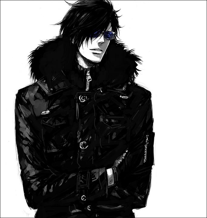Темные арты аниме 8