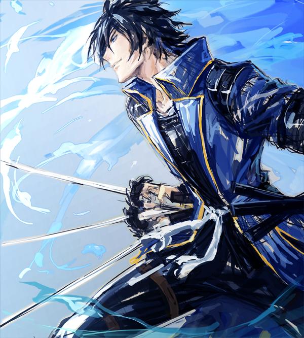 Tags: Anime, Eeru, Sengoku Basara, Date Masamune (Sengoku Basara), Pixiv