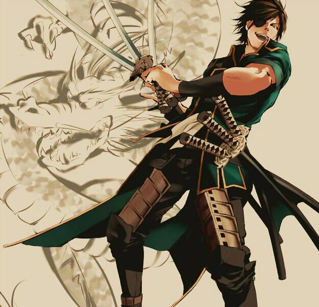 Download Anime Basara: Date Masamune (Sengoku Basara)