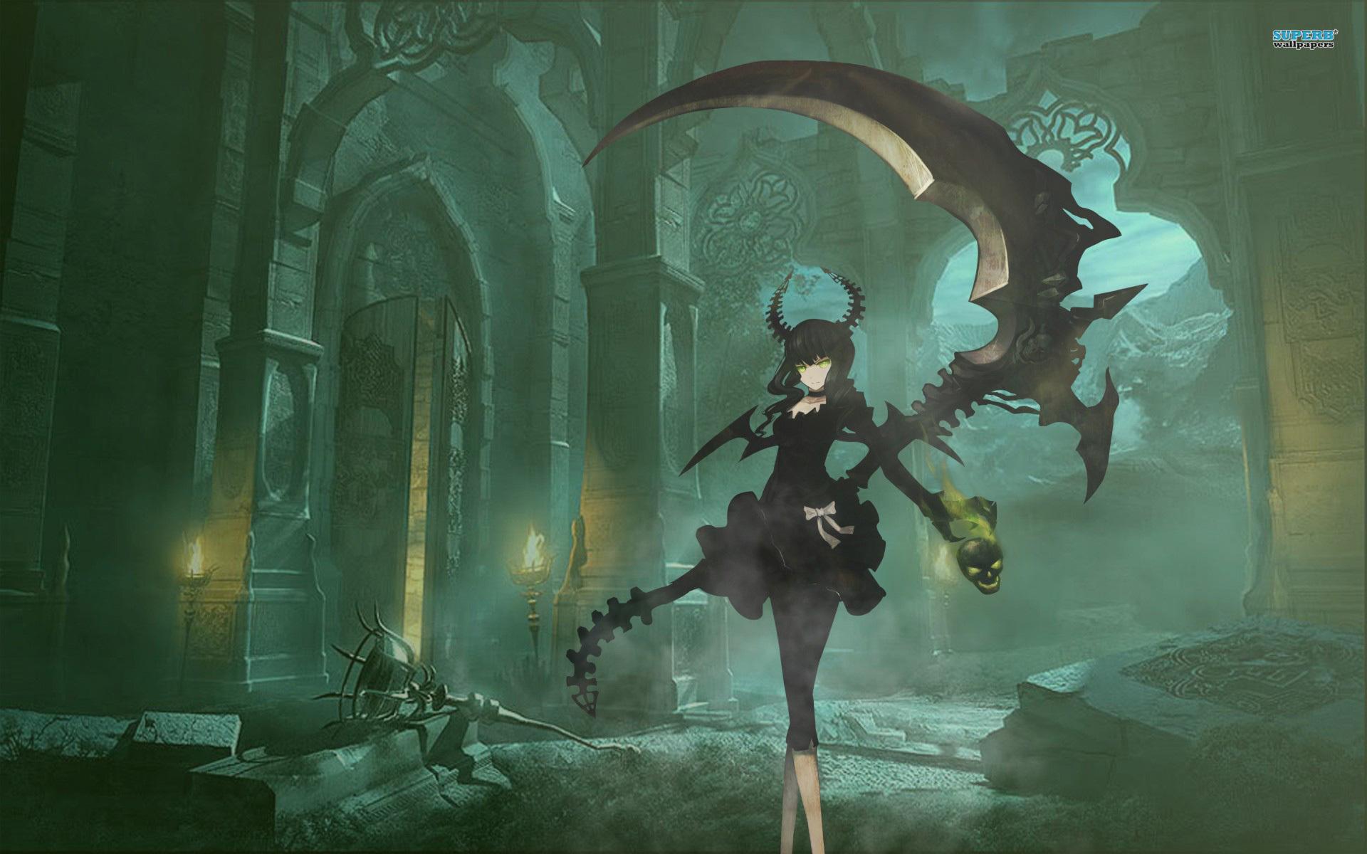 Dead master 1545172 zerochan - Anime scythe wallpaper ...
