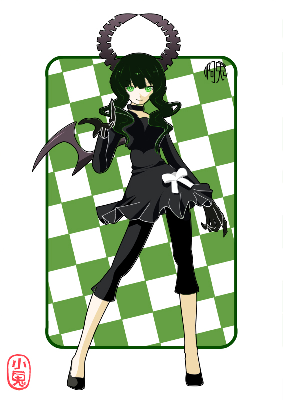 Tags: Anime, Black★Rock Shooter, Dead Master, Pixiv, Fanart