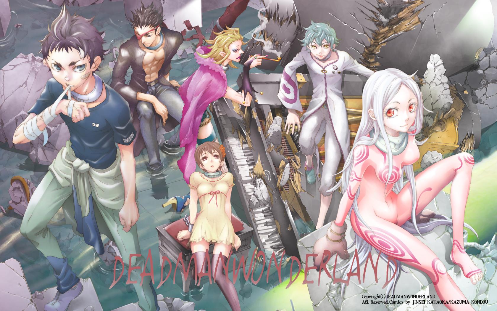 Toto Sakigami - Deadman Wonderland - Zerochan Anime Image Board