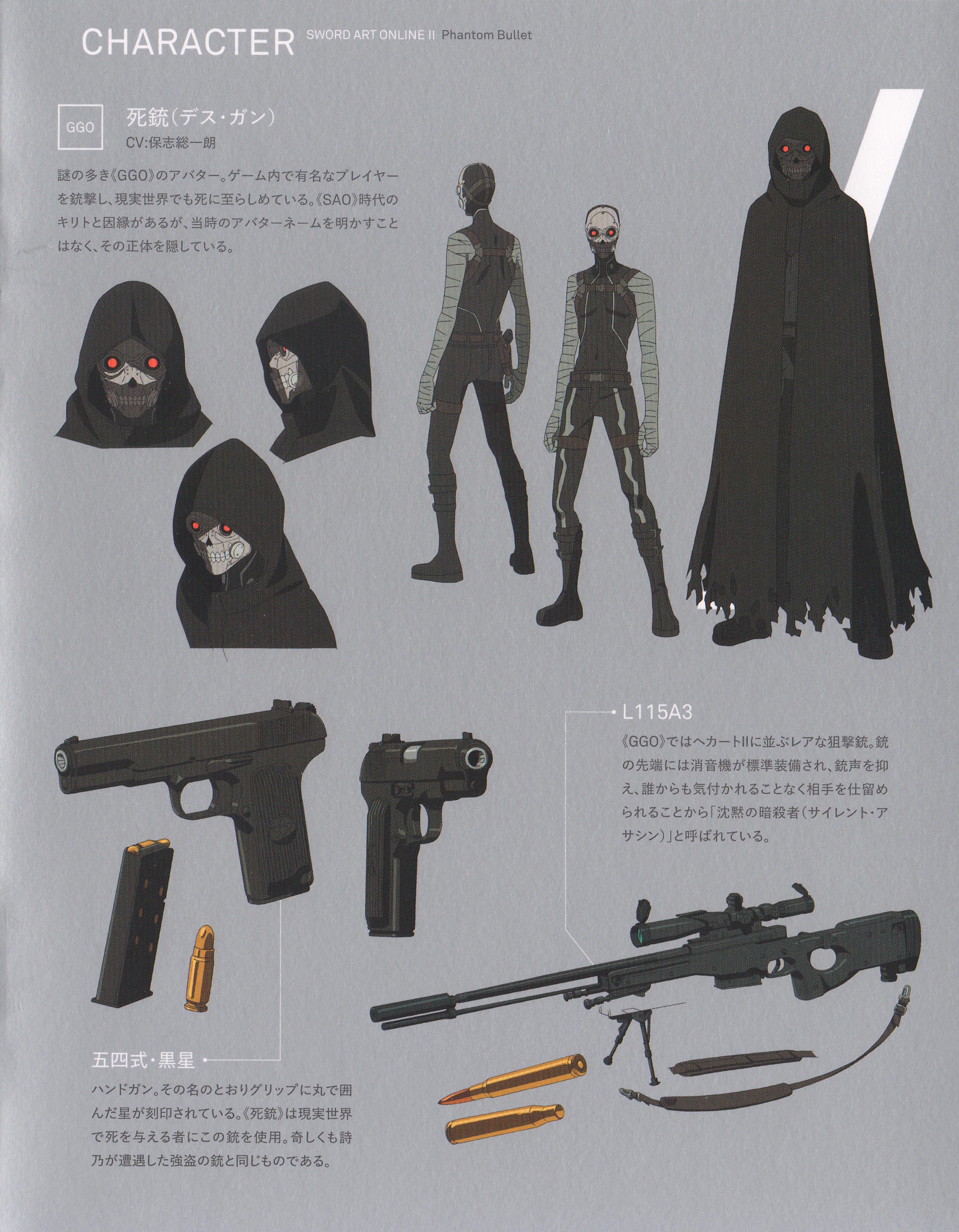 Death Gun - Sword Art Online - Image #1835714 - Zerochan ...