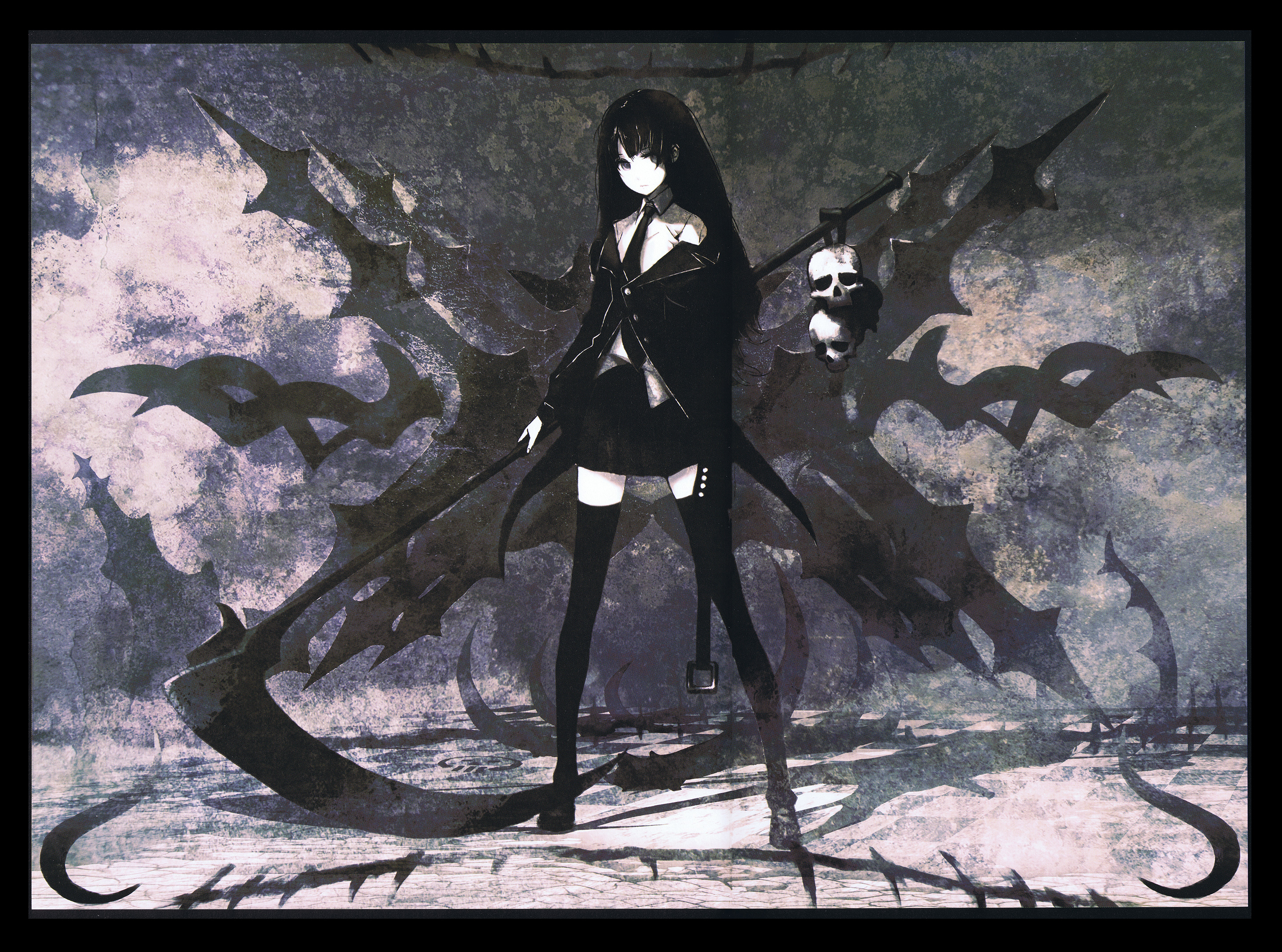 death scythe black�rock shooter image 1309953