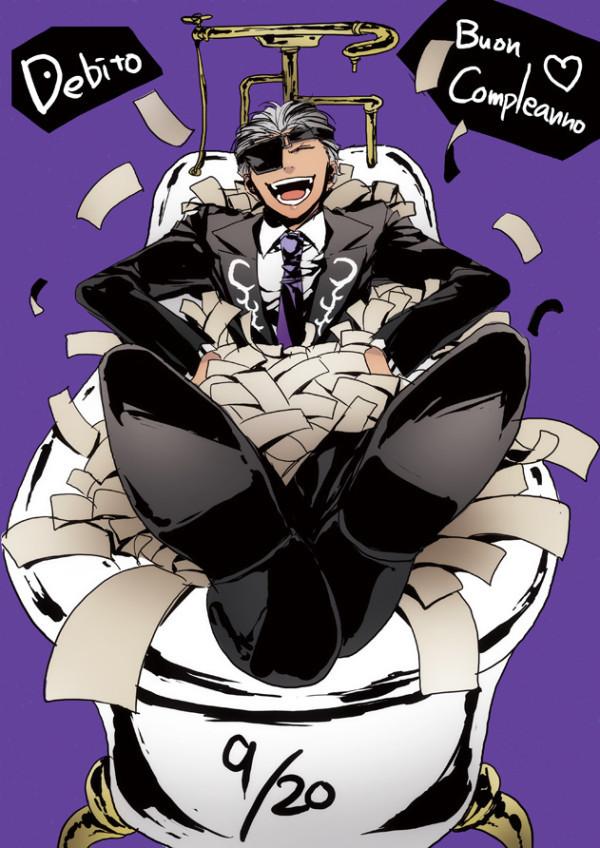 Tags: Anime, Sarachi Yomi, La storia della Arcana Famiglia, Debito, Official Art, Tumblr