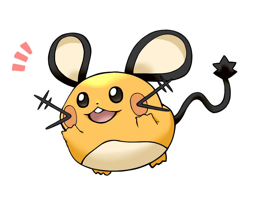 Dedenne Pok 233 Mon Zerochan Anime Image Board
