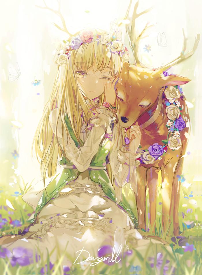 Deer Elf Miracle Nikki Mobile Wallpaper 2063069