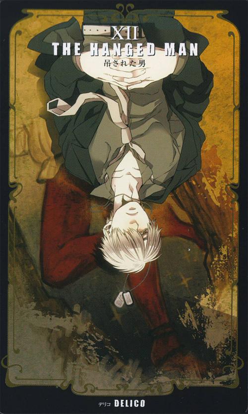 The Hanged Man Predictive Tarot Card Meanings: Zerochan Anime Image Board