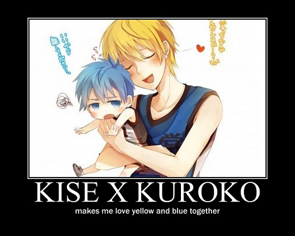 Tags: Anime, Demotivational Poster, Kuroko no Basket, Kise Ryouta, Seirin High