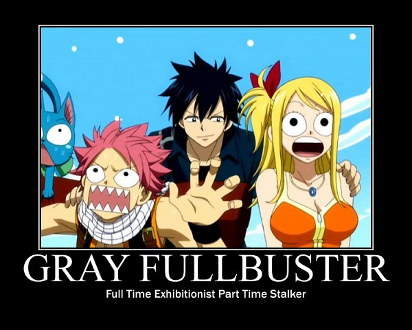 Tags: Anime, FAIRY TAIL, Lucy Heartfilia, Gray Fullbuster, Natsu Dragneel, Happy (FAIRY TAIL), O O