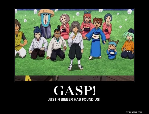 Tags: Anime, Inazuma Eleven, Level-5, Demotivational Poster, Shindou Takuto