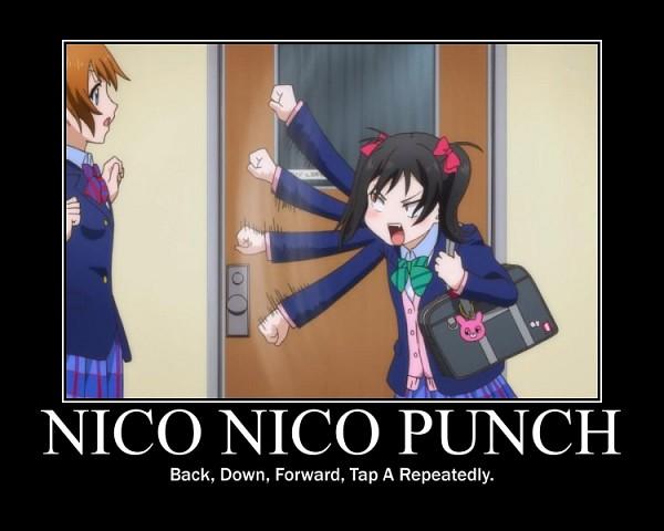 Anime love live yazawa niko kousaka honoka humor school bag