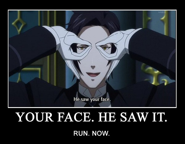 Tags: Anime, SQUARE ENIX, Kuroshitsuji, Claude Faustus, Glasses Gesture, Butler