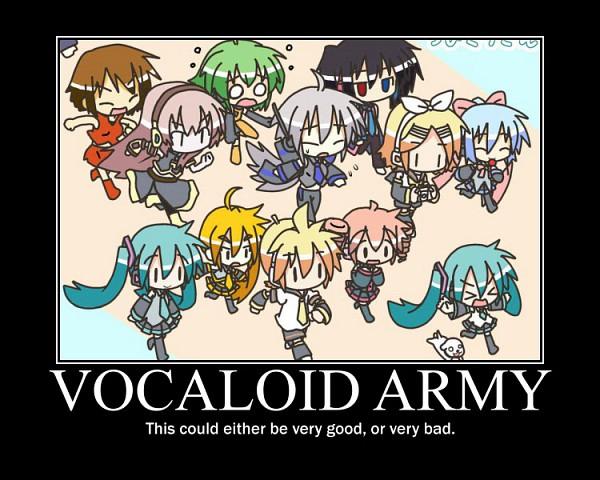 Tags: Anime, Chibi Miku-san, UTAU, VOCALOID, Kagamine Rin, GUMI, Kiyone Suzu
