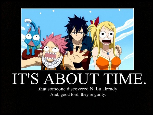 Tags: Anime, FAIRY TAIL, Happy (FAIRY TAIL), Lucy Heartfilia, Gray Fullbuster, Natsu Dragneel, Surprised