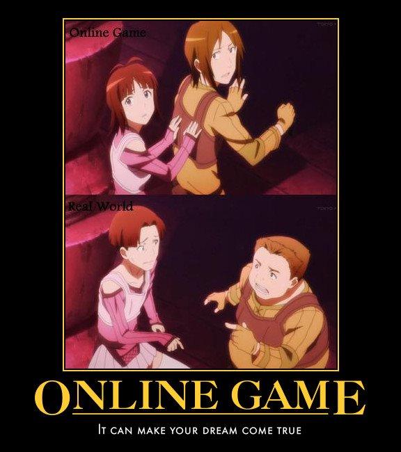 Tags Anime Sword Art Online Demotivational Poster