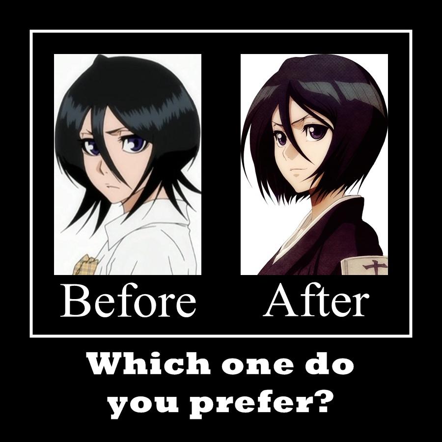 Tags Anime BLEACH Kuchiki Rukia Bleach After Timeskip Demotivational Poster