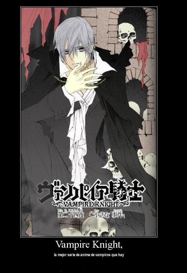 Tags: Anime, Vampire Knight, Kiryuu Zero, Demotivational Poster