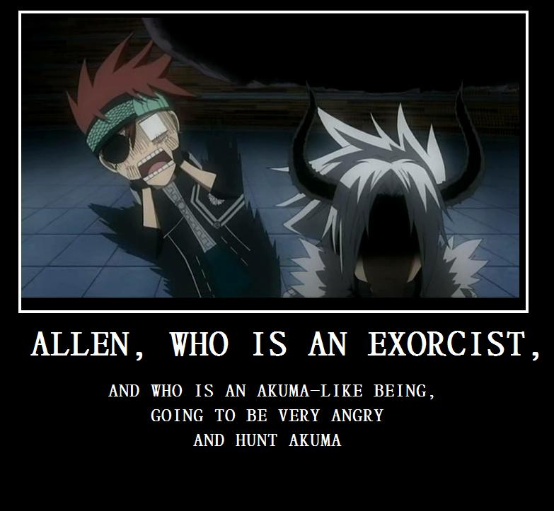 d gray man allen and road relationship quote