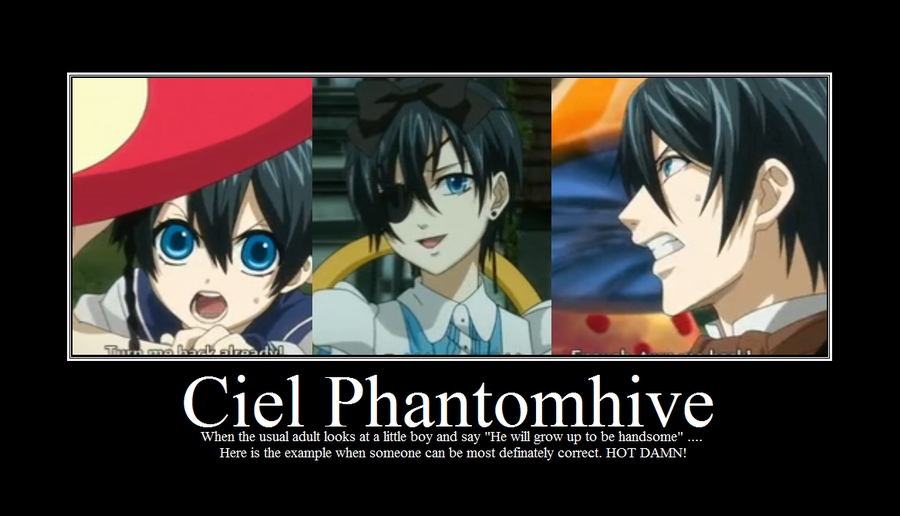Ciel Phantomhive Voice Actor English