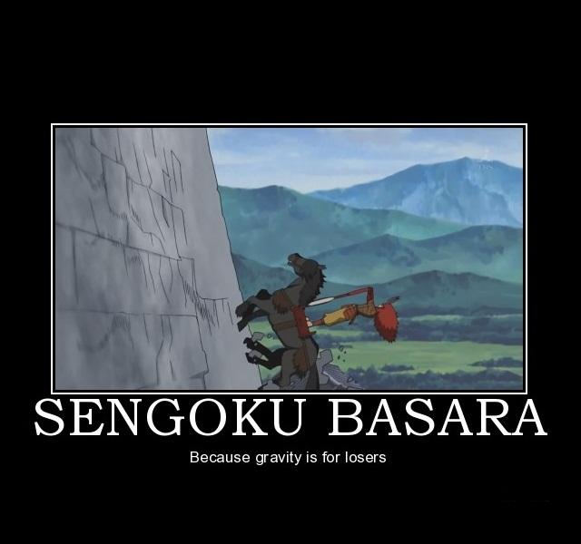 Tags: Anime, Sengoku Basara, Takeda Shingen (Sengoku Basara), Demotivational Poster, Screenshot