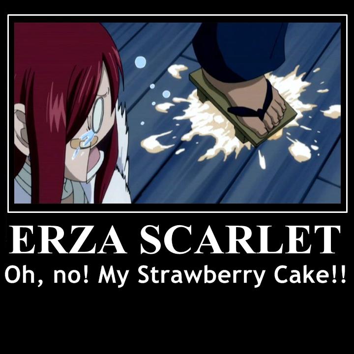 Fairy Tail Erza Cake Meme