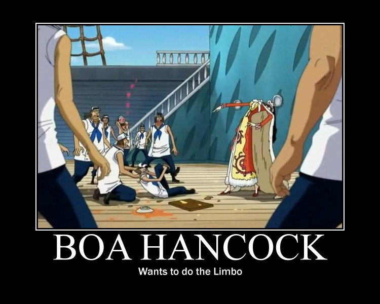 Tags anime one piece boa hancock shichibukai marine one piece
