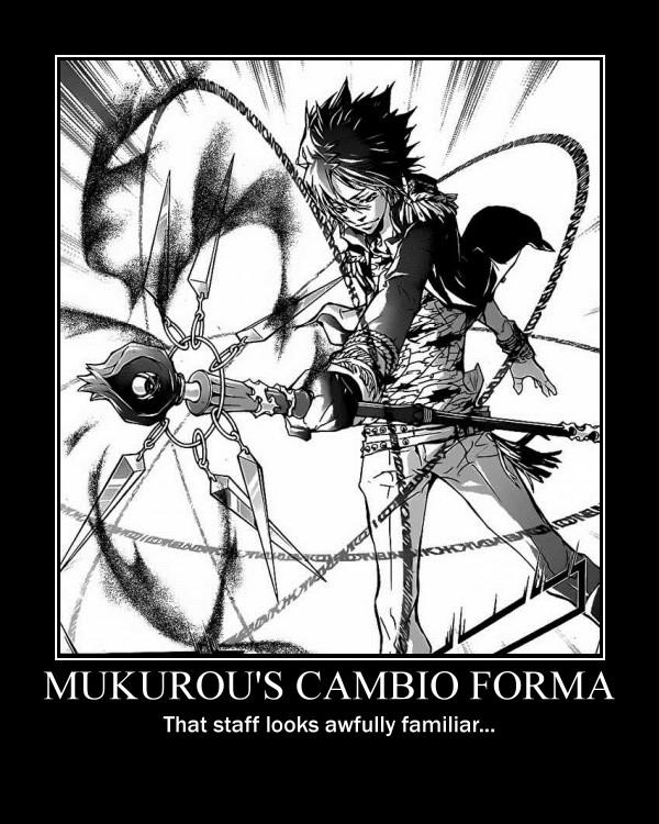 Tags: Anime, Amano Akira, Katekyo Hitman REBORN!, Rokudou Mukuro, Demotivational Poster