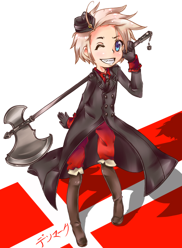 Tags: Anime, Axis Powers: Hetalia, Denmark, Artist Request, Nordic Countries