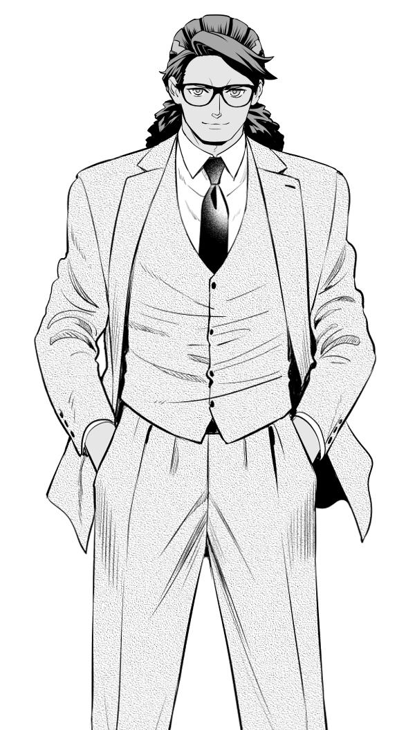 Tags: Anime, Yuuki Rika, Double Decker! Doug & Kirill, Derick Ross, Fanart From Pixiv, Pixiv, Fanart, Ross Derick