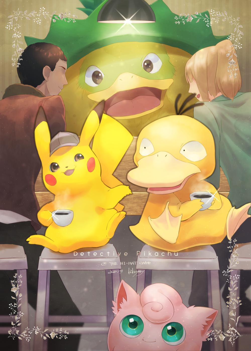 Detective Pikachu Pokemon Image 2662190 Zerochan Anime