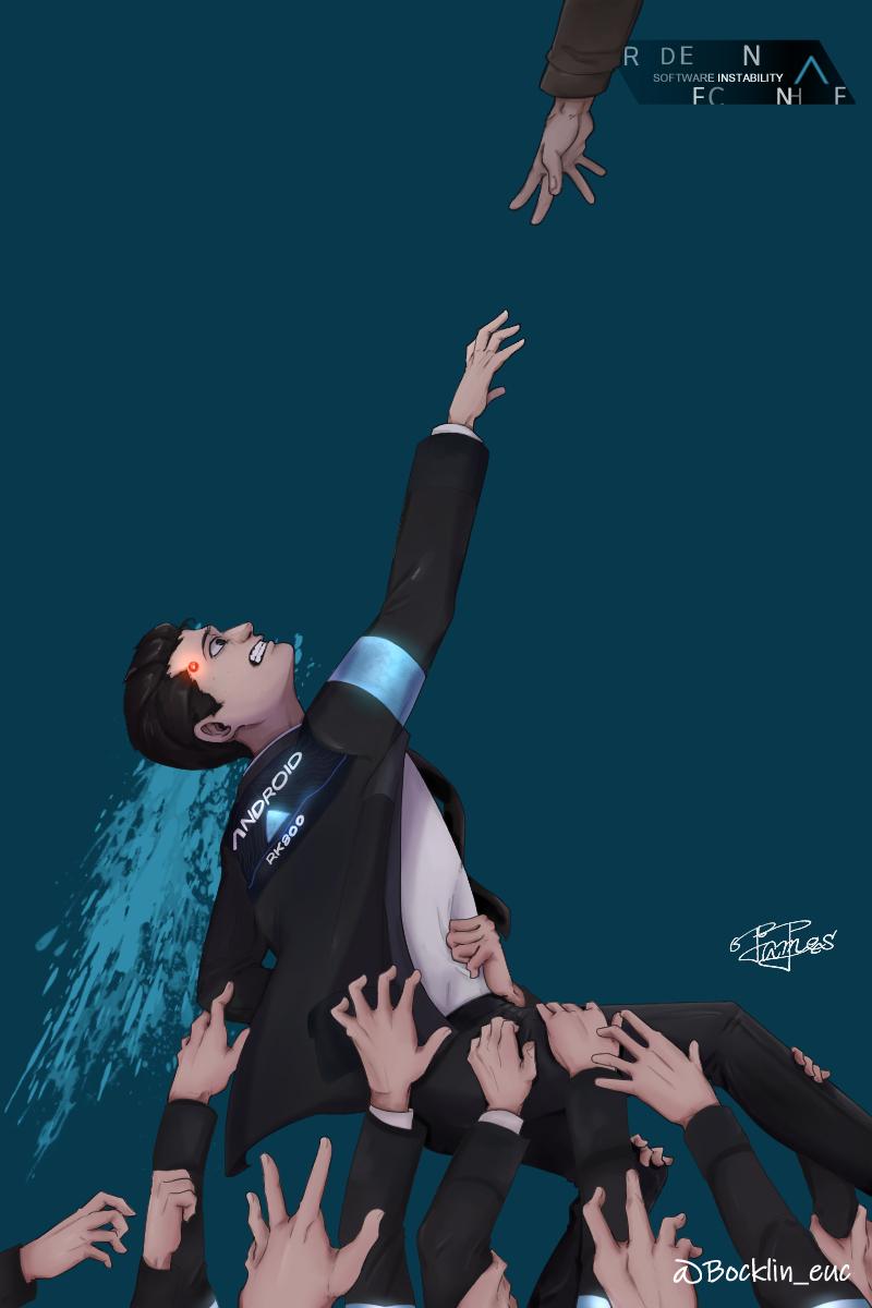 Connor Detroit Become Human Wallpaper Zerochan Anime Image Board