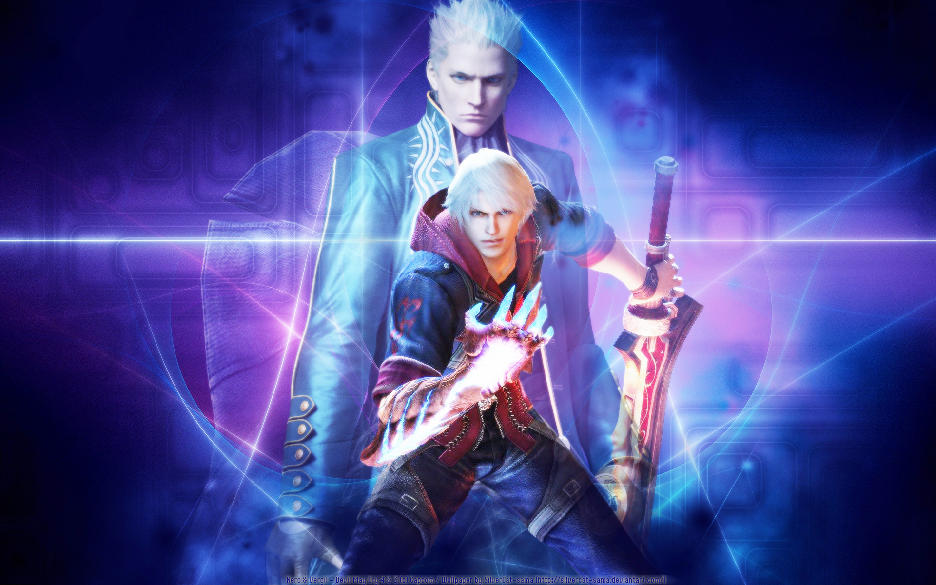 Nero Devil May Cry Wallpaper Zerochan Anime Image Board