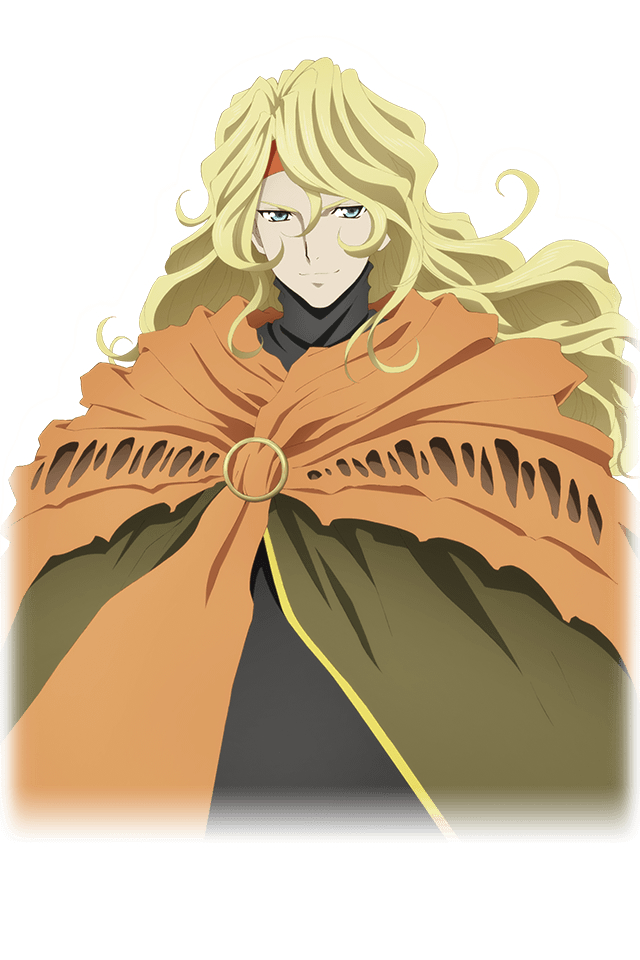 Tags: Anime, Bandai Namco Entertainment, Tales of Link, Dhaos (Tales of Phantasia), PNG Conversion, Official Art