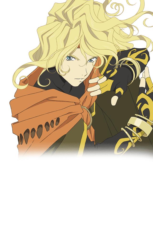 Tags: Anime, Bandai Namco Entertainment, Tales of Link, Dhaos (Tales of Phantasia), Official Art