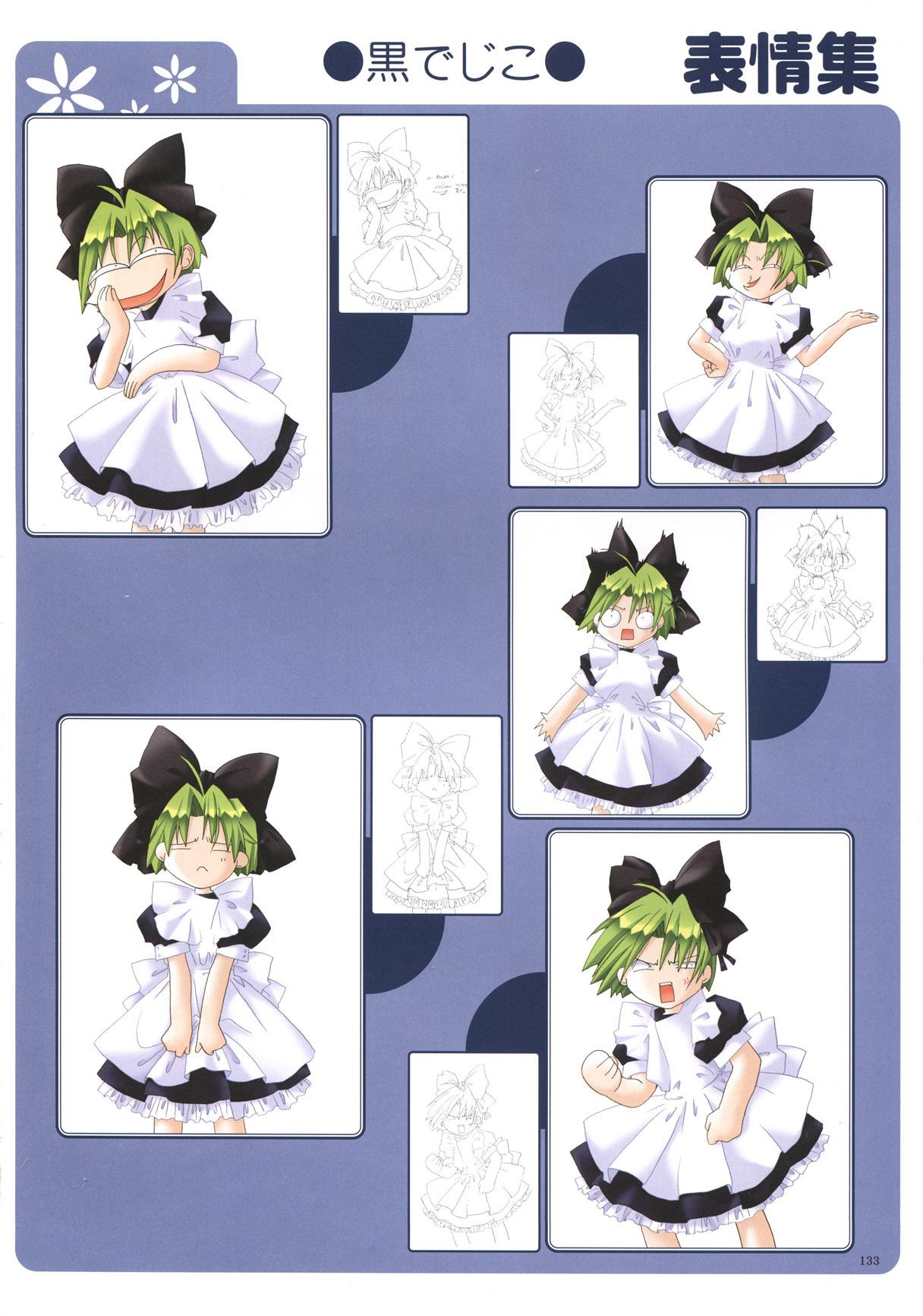 dejiko green hair page 5 zerochan anime image board