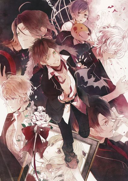 Tags: Anime, Satoi, Rejet, IDEA FACTORY, Diabolik Lovers ~Haunted dark bridal~, Sakamaki Laito, Sakamaki Subaru
