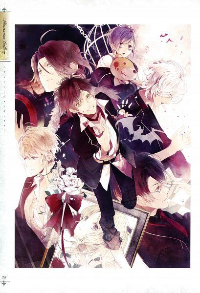 Tags: Anime, Satoi, IDEA FACTORY, Rejet, Diabolik Lovers ILLUSTRATIONS, Diabolik Lovers ~Haunted dark bridal~, Komori Yui
