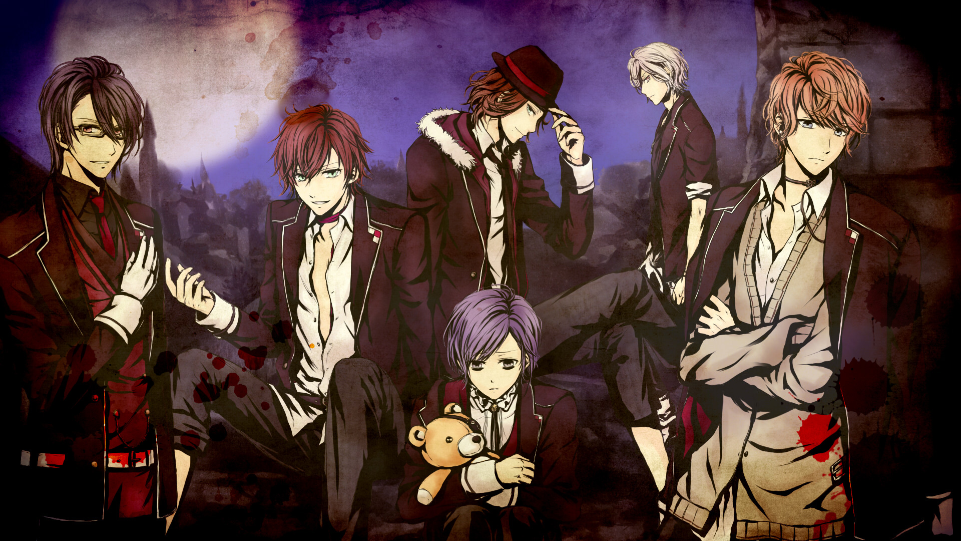 Anime Wallpapers Diabolik Lovers HD 4K Download For Mobile iPhone & PC